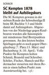 SC Kempten 1878 bleibt auf Aufstiegskurs