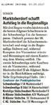 Drei Siege für Schwäbische Vereine