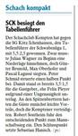 SCK besiegt Tabellenführer