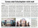 Corona setzt Schachspieler nicht matt